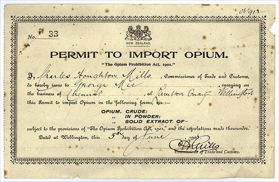 OpiumPermitNZ