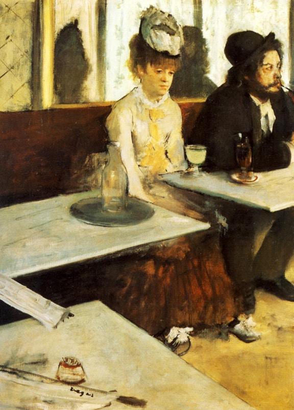 AbsintheDrinker1876_Degas