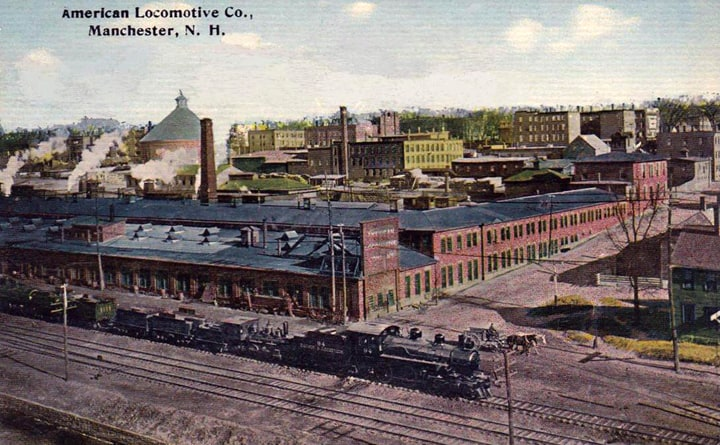 American_Locomotive_Company_Manchester_New_Hampshire_1912