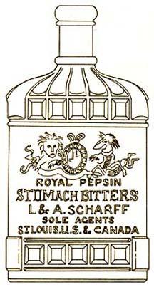 RoyalPepsinBottleSketch