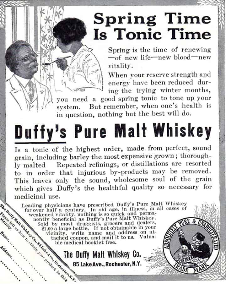 Duffys Pure Malt Whiskey -1914A