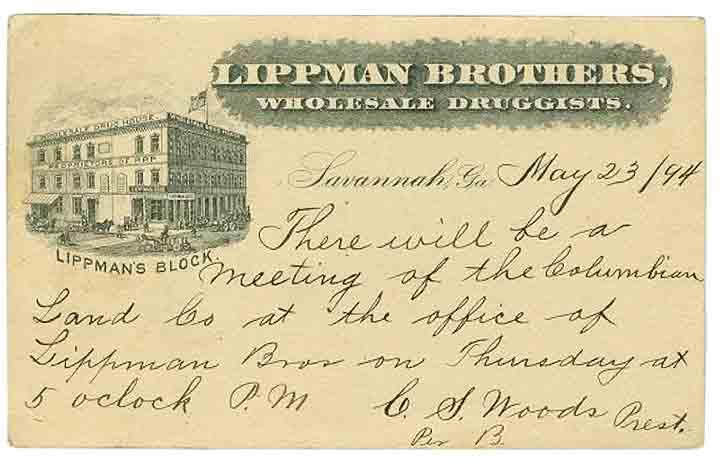 LippmansPostcard