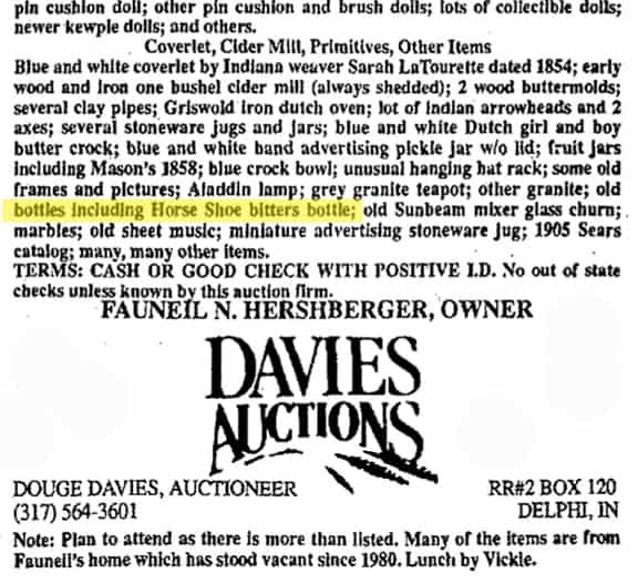 DaviesAuctionHorseShoe