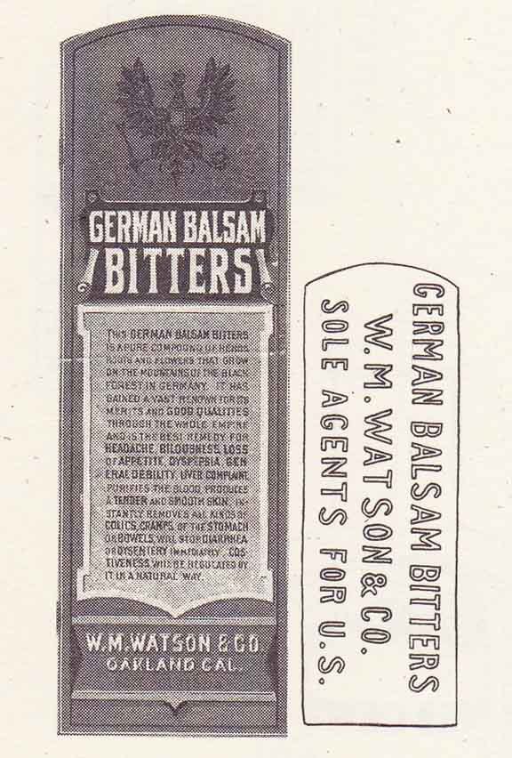 GermanBalsamBittersHam