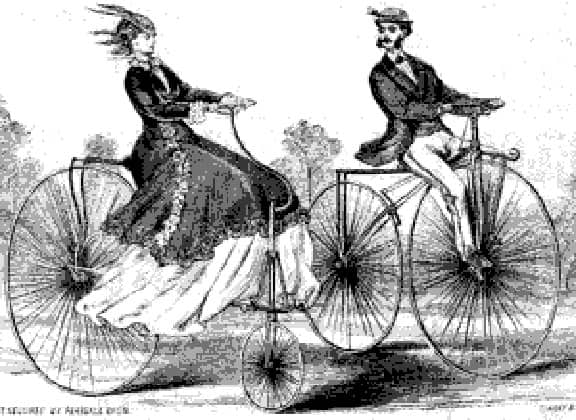 HighWheelbicyclehistory