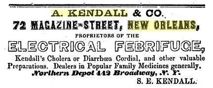A Kendall and Co - New York past present and future - comprising a history of the city of New York - 1851