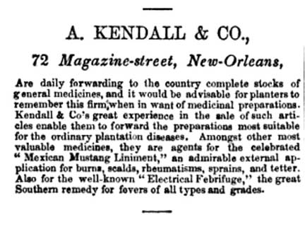 A Kindall and Co - De Bow's New Orleans Monthly Review vol 12 - 1852