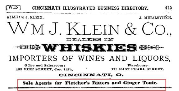 FletchersBitters1885Cinci