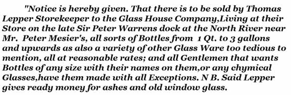 Glass House Company ad