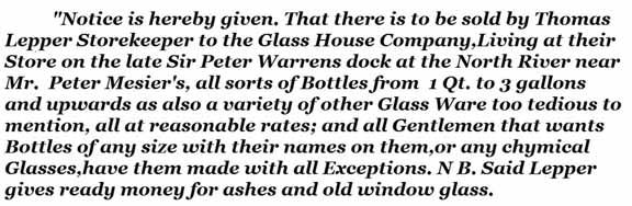 Glass House Company ad