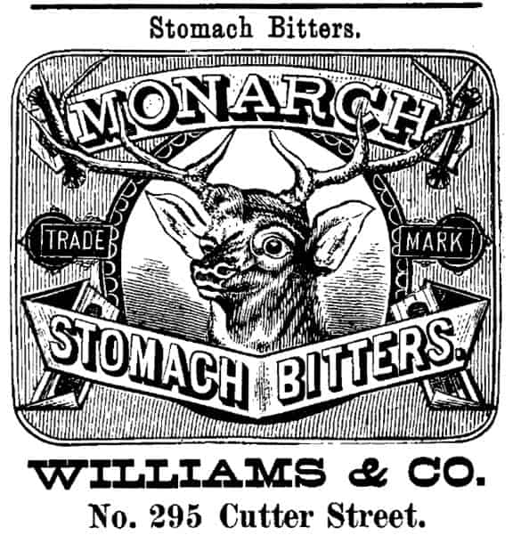 MonarchBittersAdvertisementCinci1882