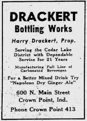 Ad from the Hammond Times, 18 Jul 1940