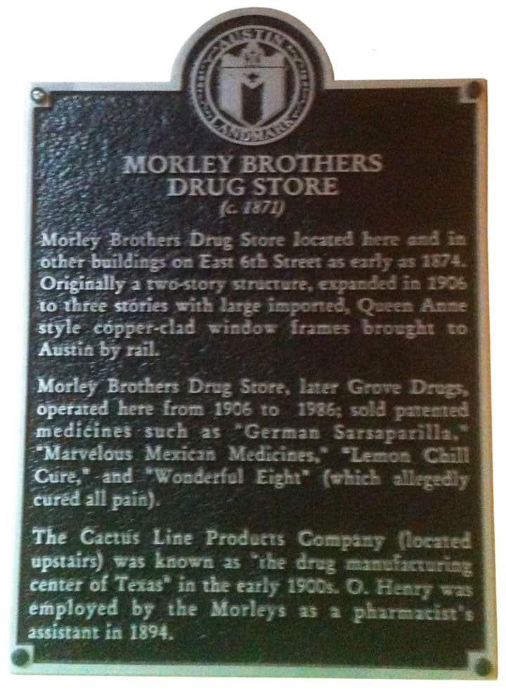 MorleyBrosHistoricalPlaque