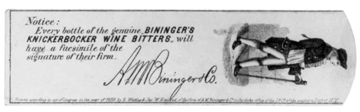 BiningerKnickerbockerSignature