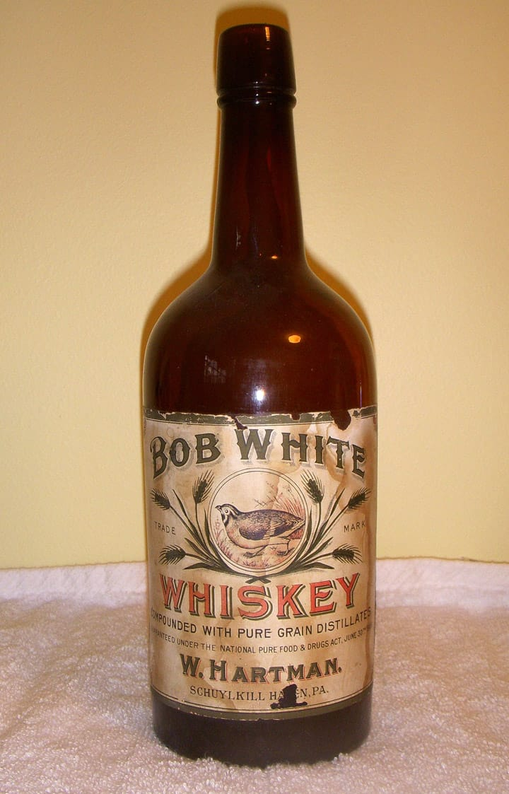 Hartman's Bob White Whiskey