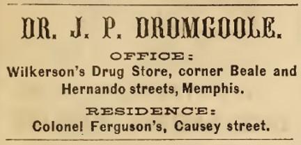 DromgooleMemphis1865
