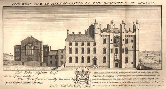 Hylton_Castle_-_Buck_1728
