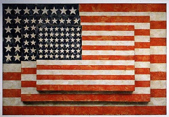 Jasper-Johns-US-Flag