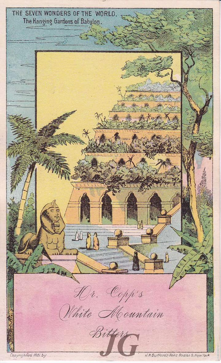 Copp's Hanging Gardens of Babylon