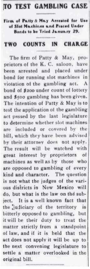 Gambling 1-18-08