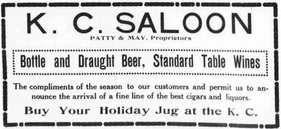 KC Saloon AD 12-28-1907