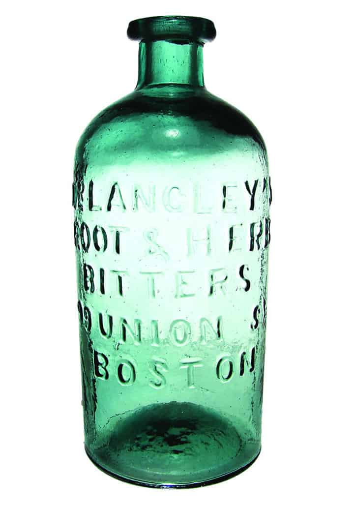 Looking at some Dr  Langley's Root & Herb Bitters from