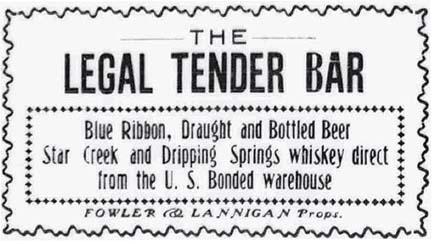 Legal Tender Bar 12-28-1907