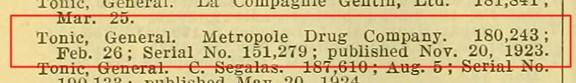 TonicGeneralMetropole1924