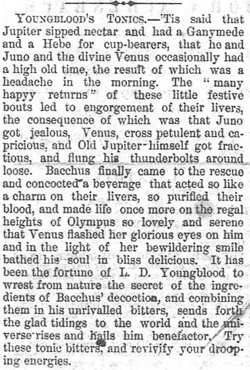 Youngbloods Tonics Oct 12 1873