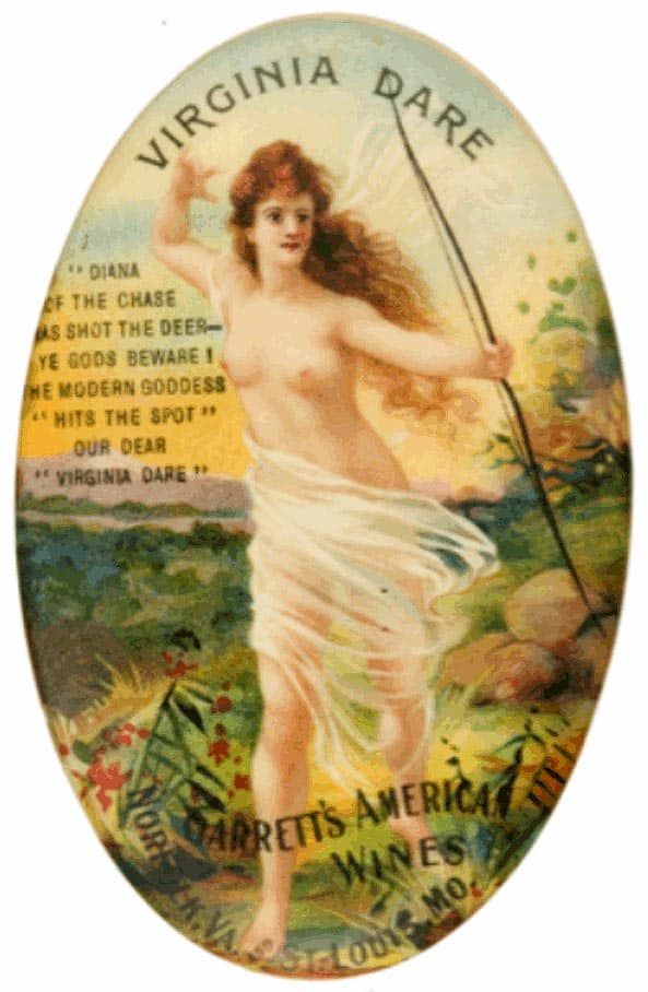 Virginia Dare Label ca
