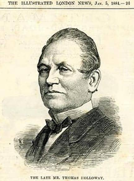 thomas Holloway Jan 1884