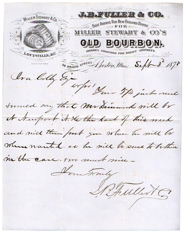 MillerStewartOldKentuckyBourbon1878  Louisville _amp_ Boston  _179