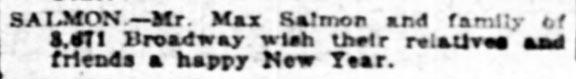 HappyHolidaysMax_NewYorkTimes_Sun__Sep_8__1918_