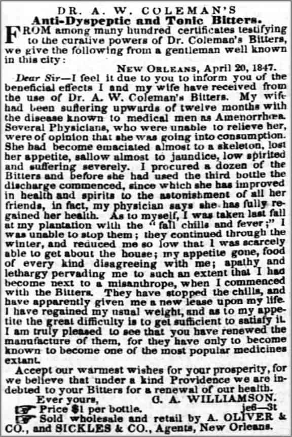 Colemans_The_Times_Picayune_Tue__Jun_8__1847