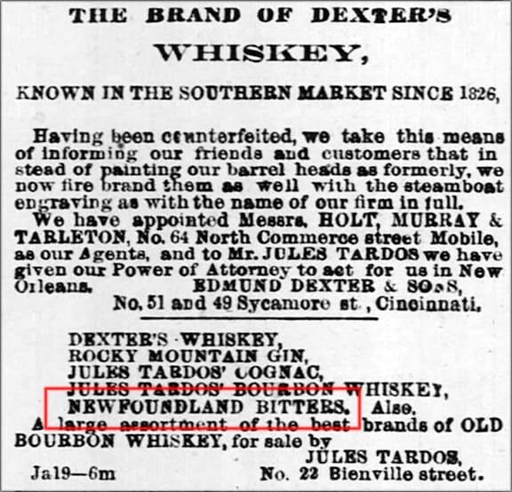 Dexters_NFLBitters_The_Times_Picayune_Sat__Jan_23__1869_