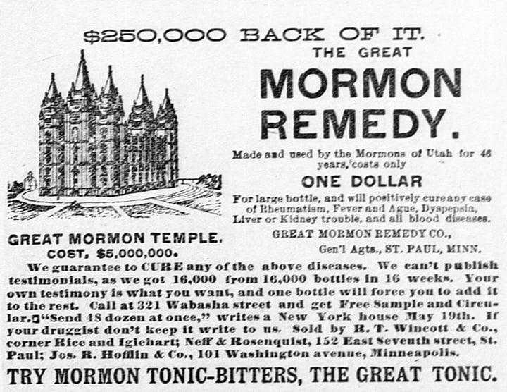 MormonBittersAd_StPaulDailyGlobe