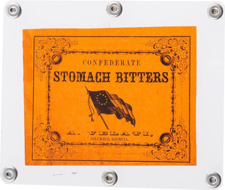 ConfederateStomachBitters_label