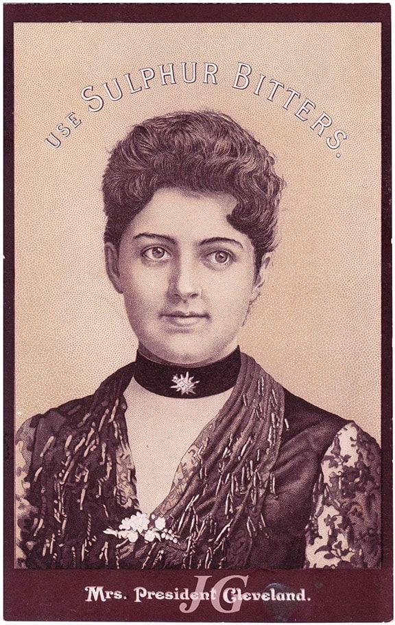 Mrs._President_Cleveland_Gourd