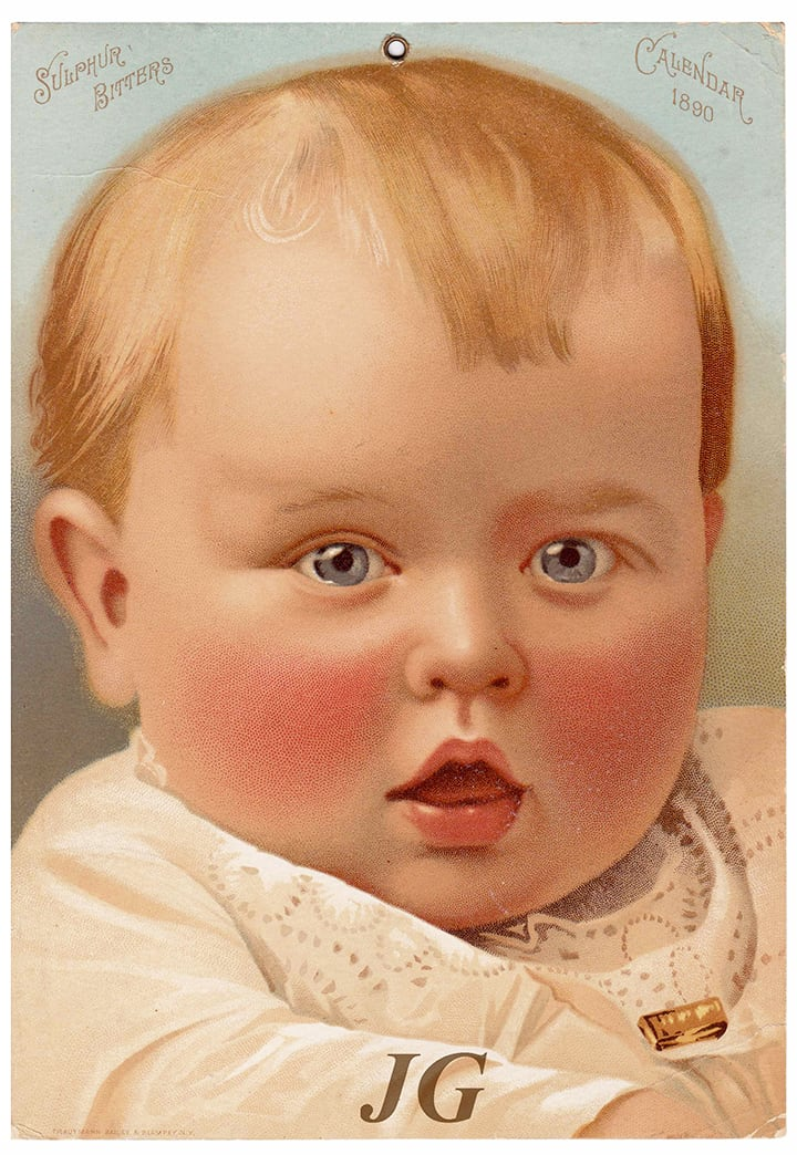 Ordway_SulphurBitters_1890 Calendar var_front