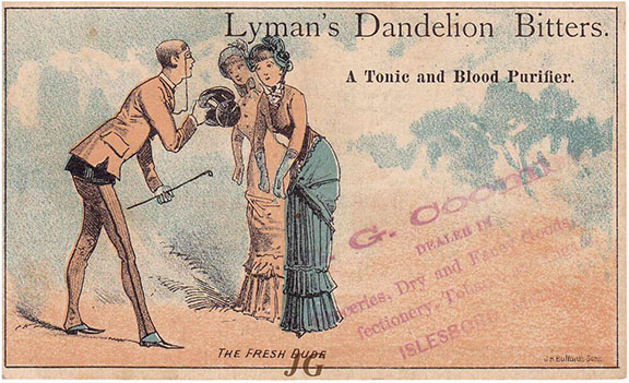 L138 Lyman's Dandelion Bitters Dude 1_s