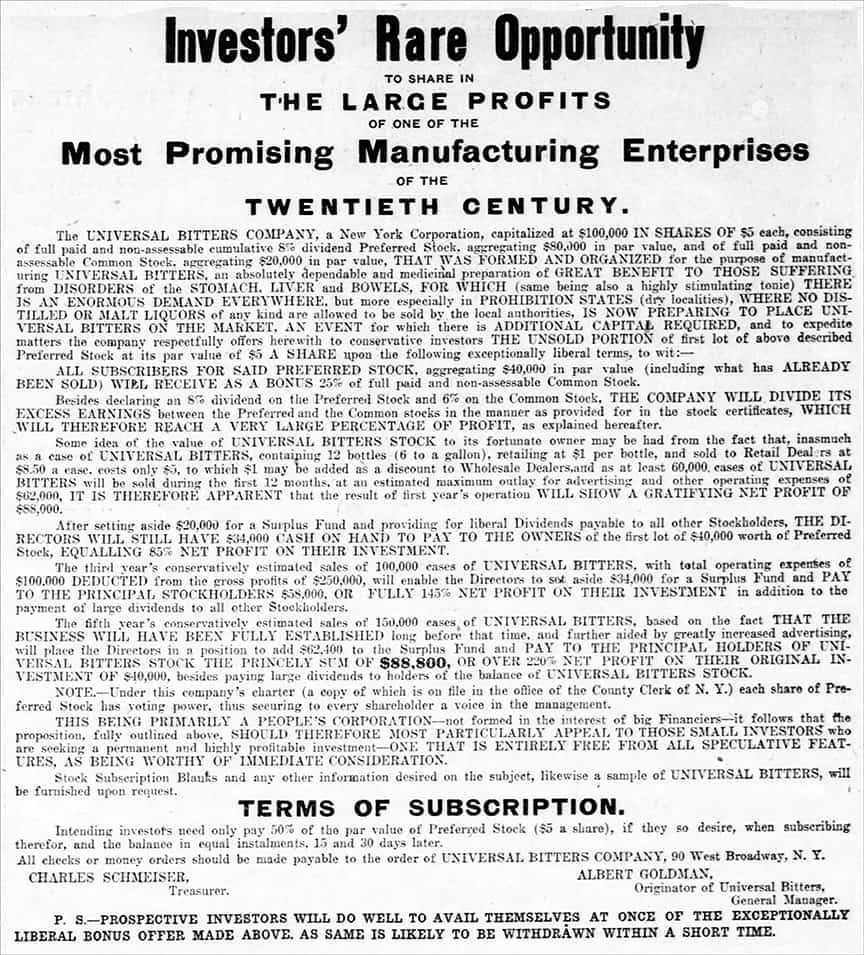 UniversalBitters_New_York_Tribune_Sun__Jan_26__1908_