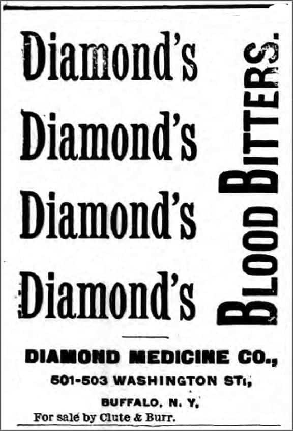 DiamondsBloodBitters_WyomingNY_1892