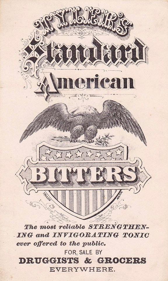 T 72 Tyler's Standard American Bitters