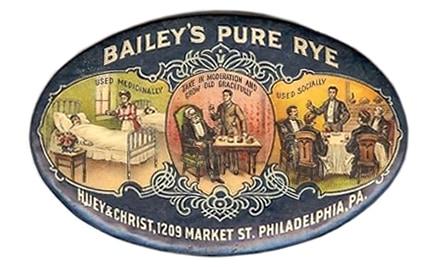 Bailey's Rye ovalR