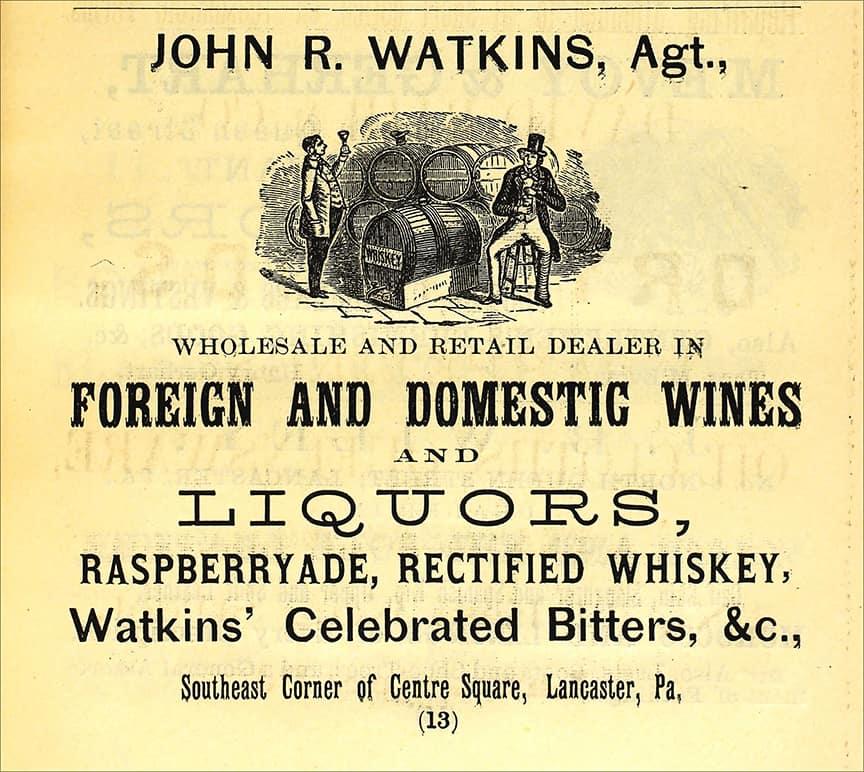 WatkinsCelebratedBittersAd_1867