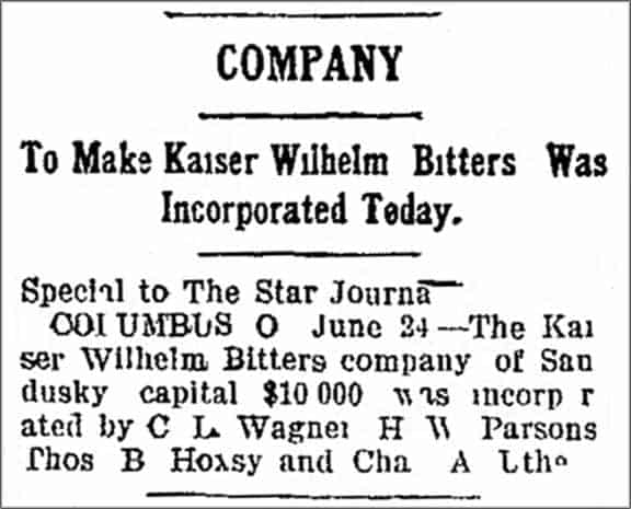 KaiserWilhelmBitters_The_Sandusky_Star_Journal_Sat__Jun_24__1905_