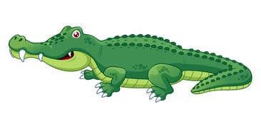 children-story-on-crocodile-attitude-clip-art